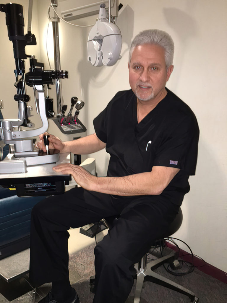 Barry R. Fabriziani, OD, Primary Eyecare and Ocular Disease specialist offers complete eye examinations.
