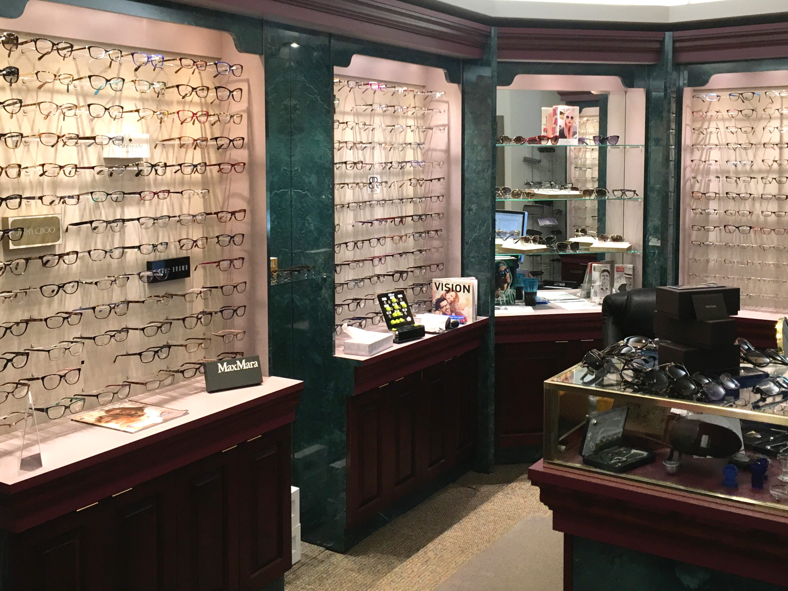 optical department